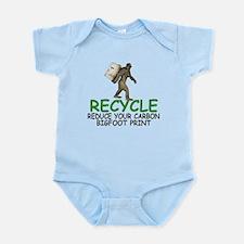 Funny Bigfoot Infant Bodysuit