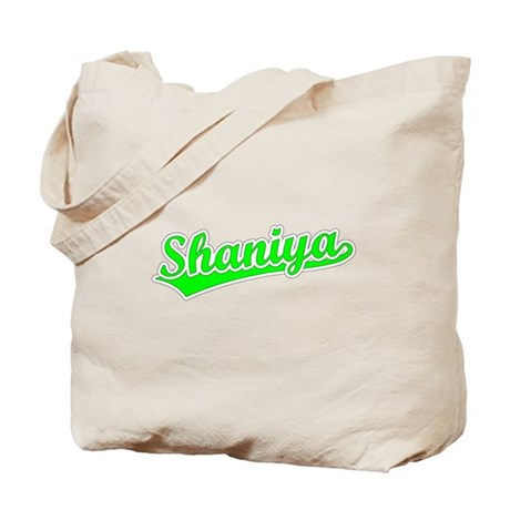 Retro Shaniya (Green) Tote Bag
