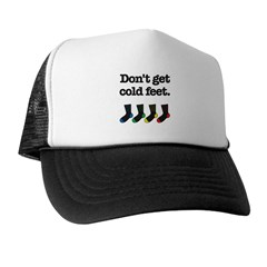 The Knitting Mafia: Cold Feet Trucker Hat
