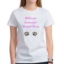 Will Trade Husband For Scottish Terrier Tee