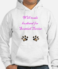 Will Trade Husband For Scottish Terrier Hoodie