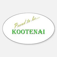 Kootenai Oval Sticker (10 pk)