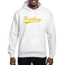 Vintage Karley (Orange) Hoodie Sweatshirt