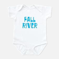 Fall River Faded (Blue) Infant Bodysuit