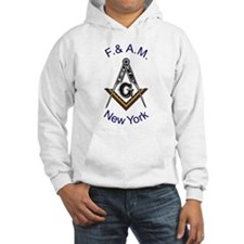 New York Square and Compass Hoodie