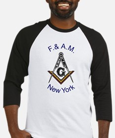New York Square and Compass Baseball Jersey