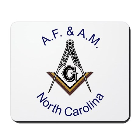 North Carolina Square and Compass Mousepad