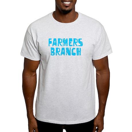 Farmers Branch Faded (Blue) Light T-Shirt