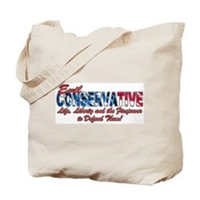 Evil Conservative (American) Tote Bag