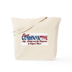 Evil Conservative (American) Tote Bag