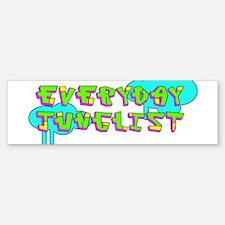 Neon Junglist Bumper Bumper Bumper Sticker