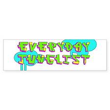 Neon Junglist Bumper Bumper Sticker