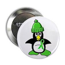 """Winter Penguin 1 Non-Hodgkins Lymphoma 2.25"""" Butto"""