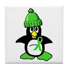 Winter Penguin 1 Non-Hodgkins Lymphoma Tile Coaste