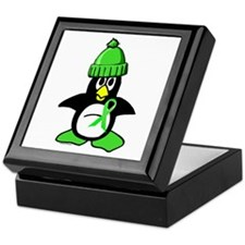 Winter Penguin 1 Non-Hodgkins Lymphoma Keepsake Bo
