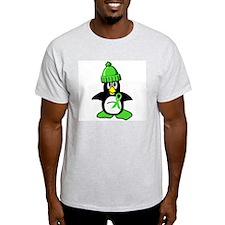 Winter Penguin 1 Non-Hodgkins Lymphoma T-Shirt