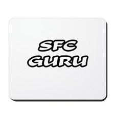 """SFC Guru"" Mousepad"