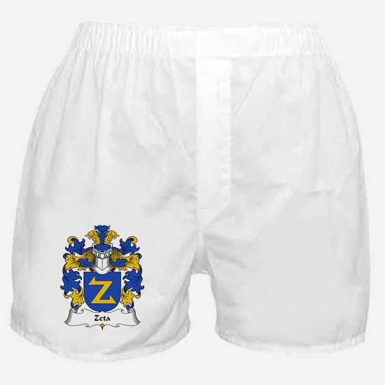 Zeta Family Crest Boxer Shorts