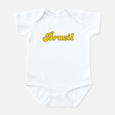 Retro Brazil (Gold) Infant Bodysuit