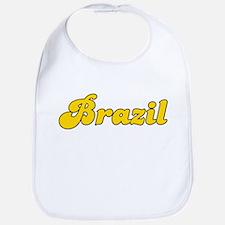 Retro Brazil (Gold) Bib