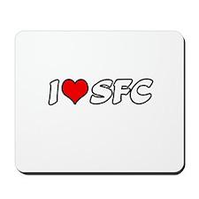"""""""I Love SFC"""" Mousepad"""