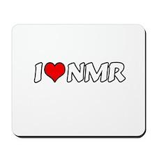 """I Love NMR"" Mousepad"