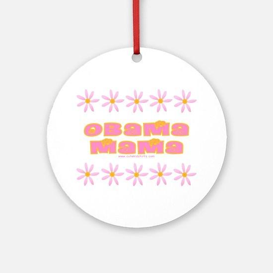 Obama Mama Ornament (Round)