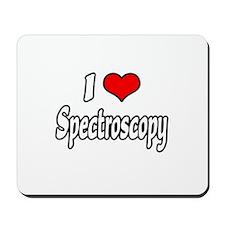 """I Love Spectroscopy"" Mousepad"