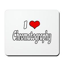 """I Love Chromatography"" Mousepad"