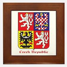 Czech Republic Framed Tile