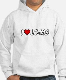 """I Love LC-MS"" Jumper Hoody"