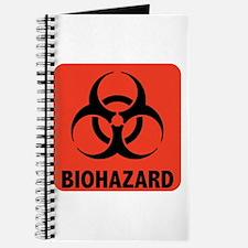 Biohazard Warning Symbol Journal
