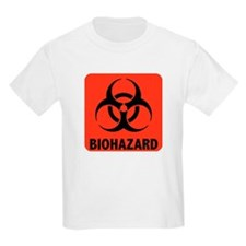 Biohazard Warning Symbol T-Shirt