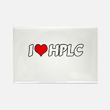 """I Love HPLC"" Rectangle Magnet"