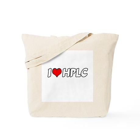 """I Love HPLC"" Tote Bag"