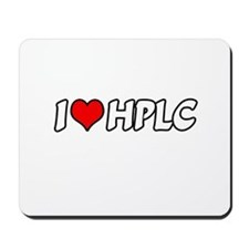 """I Love HPLC"" Mousepad"