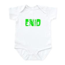 Enid Faded (Green) Infant Bodysuit