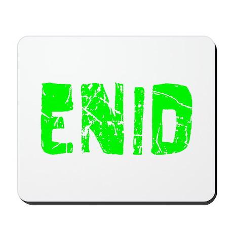 Enid Faded (Green) Mousepad