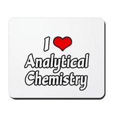 """""""I Love Analytical Chemistry"""" Mousepad"""