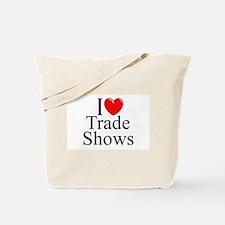 """I Love (Heart) Trade Shows"" Tote Bag"