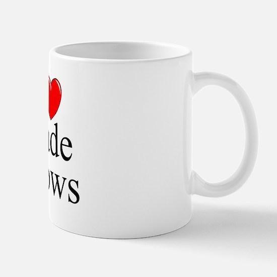 """I Love (Heart) Trade Shows"" Mug"