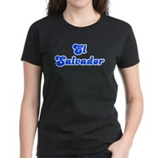 Retro El Salvador (Blue) Tee