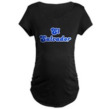 Retro El Salvador (Blue) T-Shirt