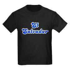 Retro El Salvador (Blue) T