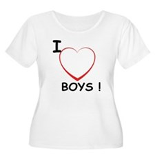 I Love Boys! T-Shirt