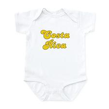 Retro Costa Rica (Gold) Infant Bodysuit