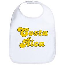 Retro Costa Rica (Gold) Bib