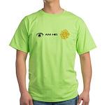 I AM HIS SUNSHINE Green T-Shirt
