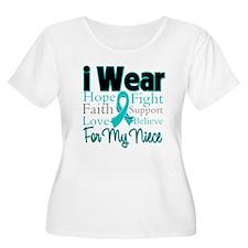 Niece - Ovarian Cancer T-Shirt