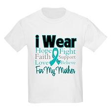 Mother - Ovarian Cancer T-Shirt